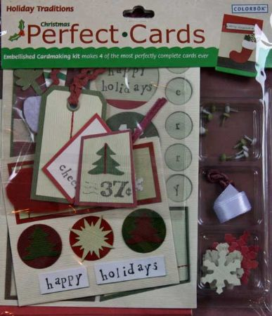 Christmas Perfect Cards Cardmaking Kit - Colorbok